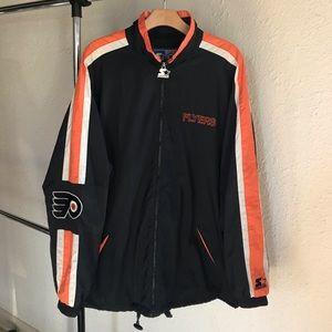 VTG Philadelphia Flyers STARTER Windbreaker Jacket